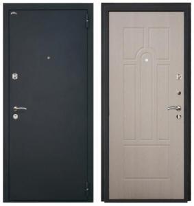Металлическая дверь Аттика Беленый дуб.jpg