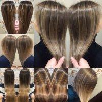 Модные техники окрашивания с сохранением идеального качества волос!